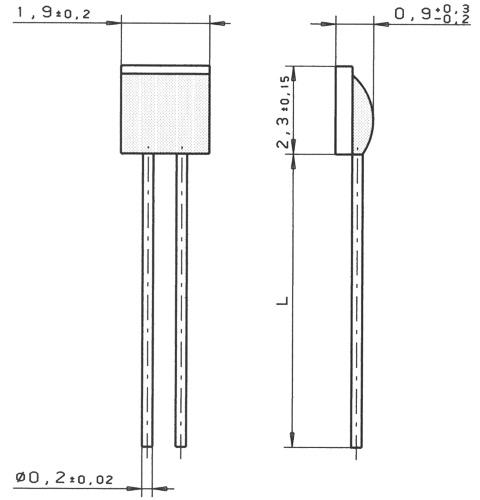 贺利氏heraeus传感器元件m系列铂电阻(中温范围-70°c至 500°c)m220
